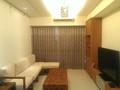 租屋:客廳與窗簾刺繡窗紗實景